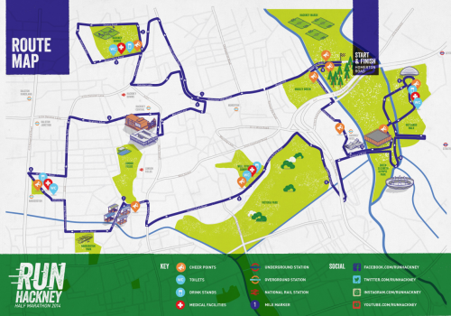 FCFK - Run Hackney route map