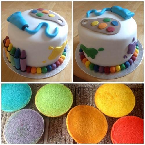 FCFK - dreams cake crayons