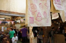 FCFK - cake event - teatowels