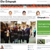 Tell your mum, tell your mates, tell the world… we're in the Telegraph