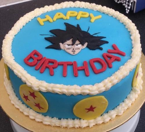 FCFK - Goku cake