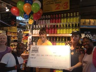 FCFK - Whole Foods cheque