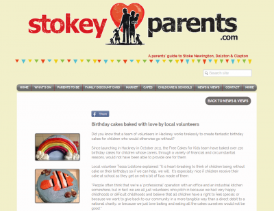 FCFK - Stokey Parents article pic