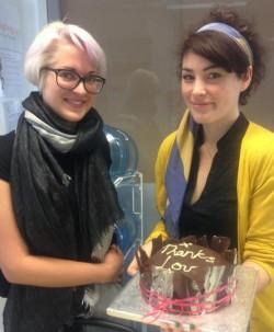 FCFK - Laura's cake for Lou