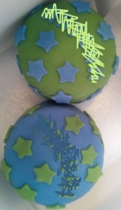FCFK - star cakes for twins