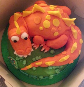 FCFK - dragon cake 1