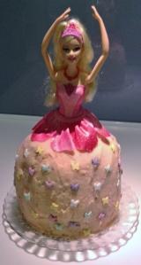 FCFK - little Barbie cake